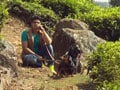 Paras and two beautiful pets in Coonoor