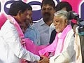 Video : Congress tries to minimise impact of Telangana leaders' exit