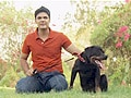Paras' encounter with a Rottweiler, German Shepherd and a Pug
