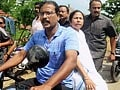 Video: A bike ride for Mamata to meet family of student raped and killed