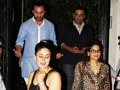 Video : Saif, Kareena's dinner date with Salman's sister