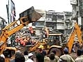 Video : Three killed in garment factory collapse in Thane