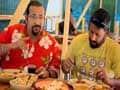 Rocky & Mayur visit Lee's Kitchen in Kathgodam