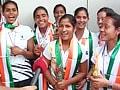 Victorious return of India's junior women's hockey team
