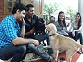 Paras meets the pets of the Ghosh family