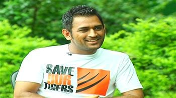 Video : Dhoni on his wife Sakshi