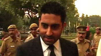 Video : I'm a very proud father today: Abhishek