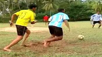 Video : Not quite FIFA, but Kerala has its own Kakas and Messis