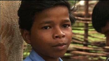 Video : Shambhu's school was destroyed by the Naxals