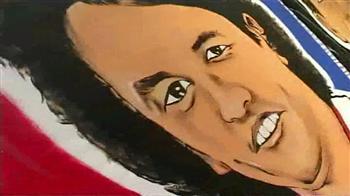 Video : Football stars on canvas