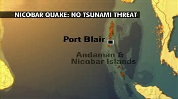 Video : Earthquake hits Nicobar islands, no damage reported