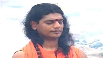 Video : 'Sex Swami' Nityanada's soul cleansing ritual