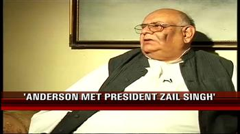Video : Anderson was not a priority on Dec 7: Arun Nehru