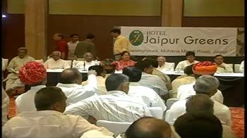 Video : Rajasthan BJP 'locks up' its MLAs
