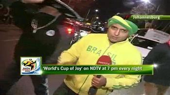 Video : Samba time in Johannesburg