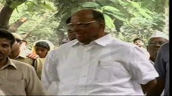 Video : Pawar confident of better production despite monsoon hiccups