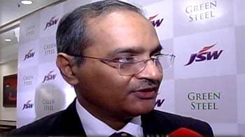 Video : JSW Steel targets 16-mn tonnes capacity by 2014