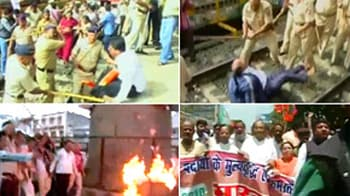 Video : Bharat bandh: India on hold