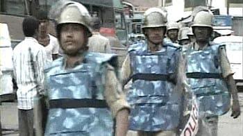 Video : Flag marches in Ayodhya, Ujjain ahead of Babri verdict