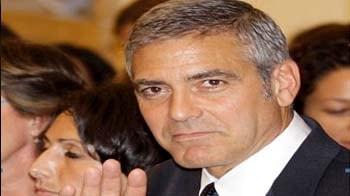 George Clooney creates a stir in Milan Court
