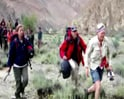 Video : Leh still cut off, tourists stranded