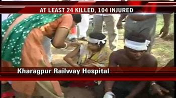 Video : Midnapore train mishap: Doctor says 104 people saved so far
