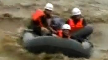 Video : China flood misery: Watch rescue video