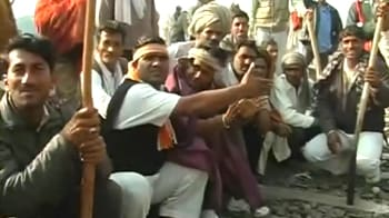 Video : Gujjar protests choke 3 crucial rail lines, thousands stranded