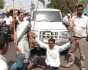 Video : Bharat bandh: Protestors block traffic in Patna