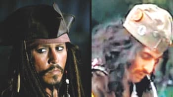Ranbir gets Johnny Depp's makeover