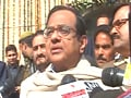Video: Chidambaram blames migrants for Delhi crimes