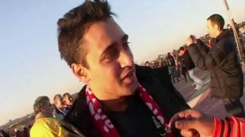 Video : Imran Khan roots for Holland