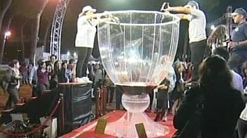 Video : Lebanon unveils world's largest wine glass