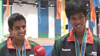 Video : Asiad: Sanam-Somdev win gold