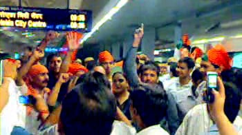 Video : Bharat bandh: Protests at Metro stations in Delhi