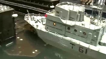 Video : Indian Navy's floating dock