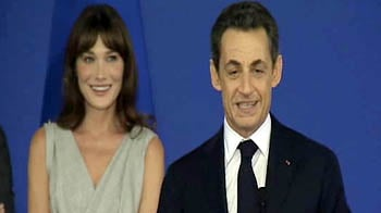Video : Sarkozy: Thank you, Carla