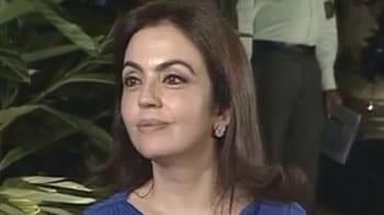 Video : Sad to part with Saurabh Tiwary: Nita Ambani