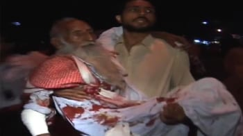 Video : Dramatic CCTV footage of Lahore blasts