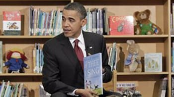 Video : Barack Obama goes back to school