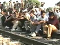 Video : Gujjar agitation spreads, rail, road routes hit