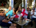 England and Algeria fans confident of win