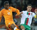 Video : Drogba vs Ronaldo in action