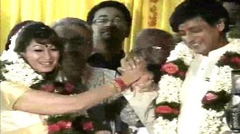 Video : Sunanda, Tharoor get married