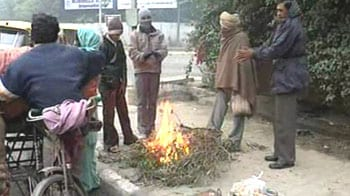 Video : Icy winds chill North India