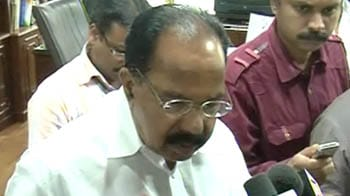Video : Law Minister Veerappa Moily appeals for calm