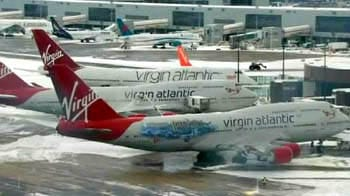 Video : How snow has hit Indian flights