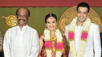 Video : Exclusive: Wedding video of Rajinikanth's daughter