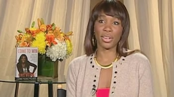 Video : Venus Williams on her new book