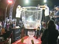 Video : Lebanon unveils world's largest wine glass
